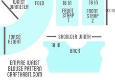 empire waist top pattern
