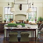 Traditional kitchen.  2010 Southern Living's Georgia idea house | southernliving.com