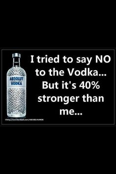 "Vodka humor!! www.LiquorList.com ""The Marketplace for Adults with Taste"" @LiquorListcom #LiquorList"