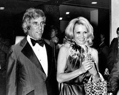 Angie Dickinson with Burt Bacharach 3-9-1976 Photo by Phil Roach-ipol-Globe Photos, Inc.