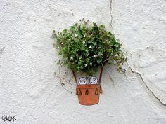 Arte urbano con mucho humor de la mano de oakoak | OLDSKULL.NET