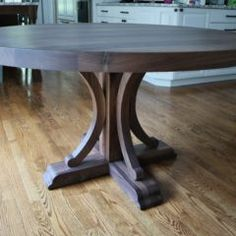 Round Tables Joliet, IL - Rustic Elements Furniture 60 Inch Round Table, Round Tables, Dining Room, Dining Table, Custom Furniture, Home Kitchens, Rustic, Wood, Kitchen Island