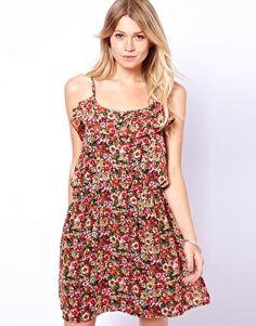 Mango Miranda Strappy Ditsy Dress