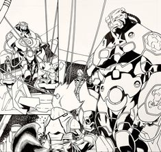 GUARDIANS OF INFINITY for Marvel Comics. Pencils: Carlo Barberi, Inks: Walden Wong Sub me at www.youtube.com/WaldenWongArt . #marvel #comics #marvelcomics #guardiansofthegalaxy #gotg #rocketraccoon #iamgroot #groot #avengers #makingcomics #drawing #inking #inks #art #arts #arte #artoftheday #crowquill #nib #inker #sketch #love #commission #dccomics #picoftheday #postoftheday #draw #sketchbook #drawings #sketch #doodle
