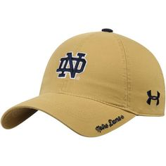 d525a188c34c5 ... france womens under armour gold notre dame fighting irish relaxed  adjustable hat 5eba6 6b1bb