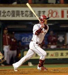 2012.04.24 【楽天】稼頭央 先制の今季1号ソロ