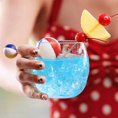 Cheers to beach balls and cannon balls. It's an infinity pool vodka at an out-of- ground pool price.