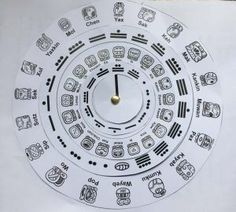 In this tutorial, you will learn to make the Maya calendar wheels and how to use them (you can use it as a resource for your class). Aztec Calendar, Kids Calendar, Calendar Activities, Math Activities, Astronomy Crafts, Mayan Glyphs, Maya Civilization, Teaching Time, Thinking Day