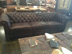 Tons of Leather types & Color options - your choice - Leather Creations Furniture Austin