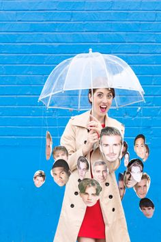 DIY Raining Men Halloween Costume Idea! LOL This is hilarious! I love that Rider Strong is front and center!