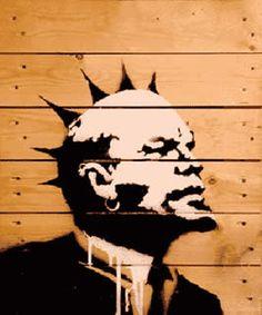 Banksy   Banksy - more streetart? Check www.Streetart.nl