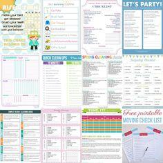 printable-checklists