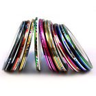 Hot 30 Color Rolls Striping Tape Line Nail Art Decoration Sticker Brand Gift S2