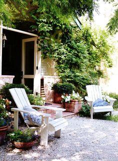 dreamy outdoor living