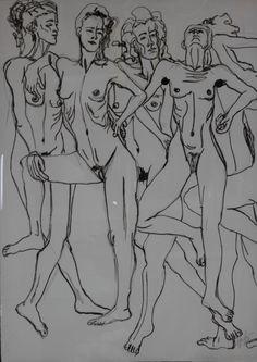 Série Lilith Preto e Branco 2009 130x175 Ceramic Sculptures, Contemporary Art, Black And White, Paintings, Artists