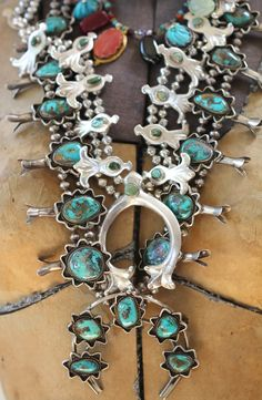 yourgreatfinds: The Squash Blossom Silver Question