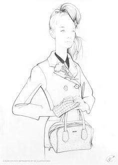 Chic fashion illustration // Nuno DaCosta