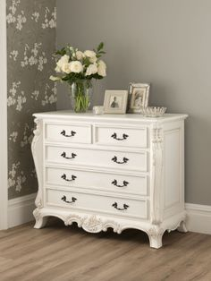 This Stunning La Rochelle Antique French Chest Works Well Alongside Our  Shabby Chic Furniture