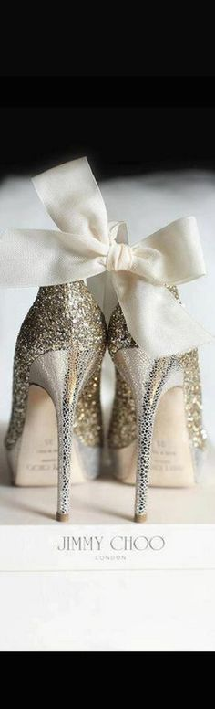 And when my Chris asks me to marry him again (renew our vows) I will step out in our reception in these shoes! LOL These Jimmys are too cute!