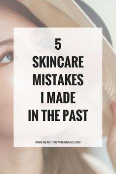 #skincaremistakes #skincaretips #skincarebloggers #skincareobsessed