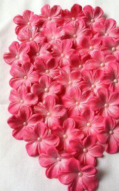Gumpaste Edilbe Cake Decorations Bright Pink Gum by SweetEdibles, $12.50