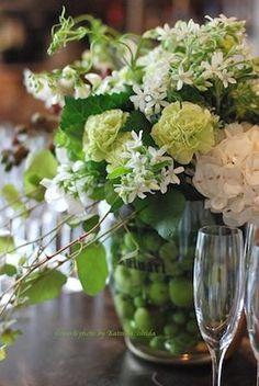 ウェルカムシャンパーニュの花♪ : 花のun deux trois