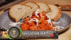 Máte chuť na nějakou pikantní dobrotu? Žádný problém! Vyzkoušejte naše nakládané buřty v pikantní omáčce! Do cibulového základu a rajčatového pyré, přidejte koření, okurky, kozí rohy, feferonky a špekáčky. Skvělé na tomto receptu je, že můžete konzumovat ihned ještě teplé, nebo nechat vychladnout a uschovat do lednice. Jako přílohu doporučujeme čerstvý chleba! Dobrou chuť Vám přeje Brepta! Korn