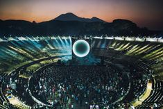 DAVID GUILMOUR performed two extraordinary concerts at the amphitheatre in POMPEI, a reprisal of the legendary Pink Floyd 1971 film - and Sarah Lee was given exclusive access to photograph the event.