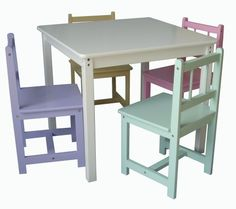 Beck Children's Pastel Color Wooden Table with Four Chairs by Beck, http://www.amazon.com/dp/B004VN05LQ/ref=cm_sw_r_pi_dp_Fzf6qb05CYMZF