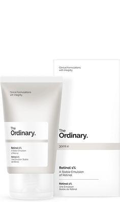 The Ordinary Retinol 1%, $6.70, available at Ordinaries; The Ordinary Advanced Retinoid 2%, $9.80, available at Ordinaries.
