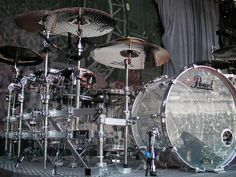 Tommy Lee's PEARL Drumkit ...