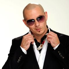 Pitbull How Do You Not Like This Guy Hes Everywhere And Such A Sharp Dresser He Always Looks Super Good