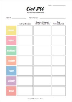 COMPLIMENTARY PRINTABLES Goals Planner, Planner Pages, Weekly Planner, Happy Planner, Planner Template, Printable Planner, Planner Inserts, Free Printables, 21 Day Fix Meal Plan