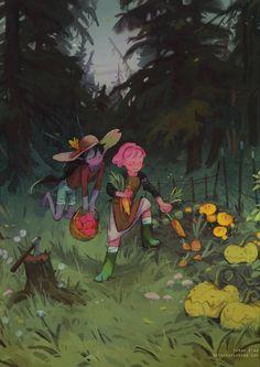 Adventure Time Marceline, Adventure Time Art, Marceline And Princess Bubblegum, Hotarubi No Mori, Never Grow Old, Grey Art, Visual Development, Freelance Illustrator, Beautiful Images