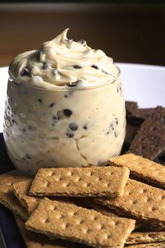 Creamy Chocolate Chip Cookie Dough Dip via Brittany's Pantry