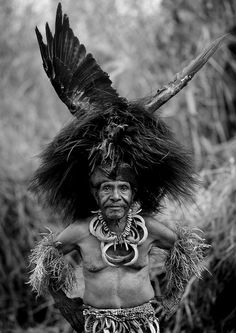 Chimbu Tribe Man During Mount Hagen Sing Sing Cultural Show, Mt Hagen, Western Highlands, Papua New Guinea, via Flickr.