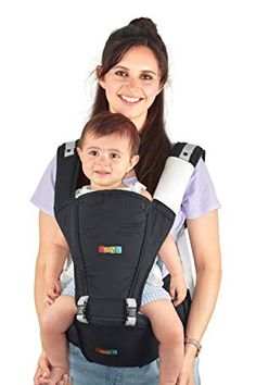 dcaccc92ae3 NimNik Baby Sling Carrier Ergonomics Lightweight Hipseat with Lumbar  Support