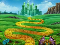 Yellow Road - Wizard of Oz