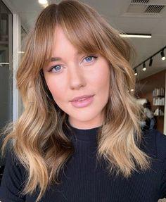 Curtain Bangs Hair Inspo, Hair Inspiration, Medium Hair Styles, Short Hair Styles, New Hair Trends, Ginger Hair, Hair Day, Pretty Hairstyles, Fringe Hairstyles