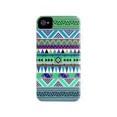 Coque iPhone 4 aztèque Overdose esodrevo - Bianca Green