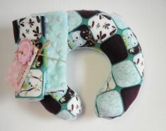 Baby Toddler Childrens Neck Travel Pillow with by Loubugsboutique