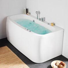 1443020   Hafa Aqua 160 Square Badekar 1575x750 mm, Uten system
