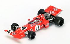 F1 Paper Model - 1971 Austrian GP March Ford 711 Paper Car Ver.2 Free Template Download