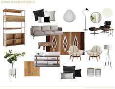 Modern Masculine Living Room