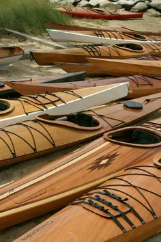#kayakpicenum in legno fatti a mano
