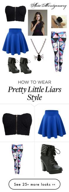 """""""PLL: Aria Outfit #1"""" by the-masked on Polyvore"""
