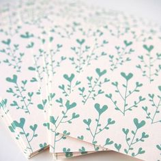 Hearts are blooming!! Our heartic flower patterned mini cards printed on a recycled paper. #heart #hearts #flower #flowers #mintgreen #mint #bloom #pattern #patterns #patterndesign  #paper #papers #paperlover #card #cards #notes #instagood #instadaily #drawing #illustration #graphicdesign #designer #design  #flowerpattern #onetone