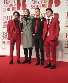 The Vamps BRITs Awards