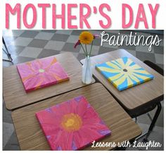 Mother's Day Flower Paintings