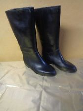 Weather Guard Black Rubber Rain Gardening Boots Women's Size 9D